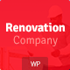 Renovation Company - Construction and Building WordPress Theme - ThemeForest Item for Sale