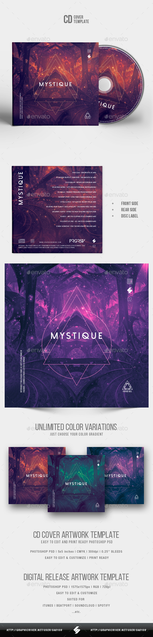 Beatport Graphics, Designs & Templates from GraphicRiver