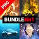 4in1 Bundle - Illuminatum - Photoshop Actions - GraphicRiver Item for Sale