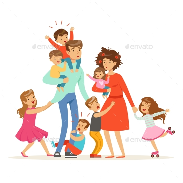 Family with Many Children
