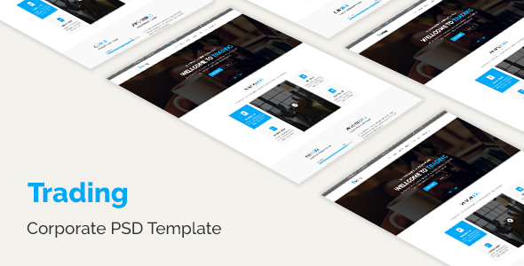 Trading – Corporate PSD Template