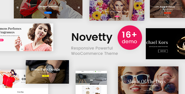 Novetty - Responsive Powerful WooCommerce Theme