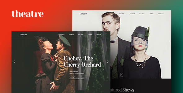 Theatre WP | Culture, Entertainment & Theater WordPress Theme