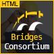 The Bridges Construction Building HTML Template - ThemeForest Item for Sale