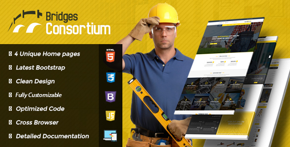ThemeForest | The Bridges Construction Building HTML Template Free Download #1 free download ThemeForest | The Bridges Construction Building HTML Template Free Download #1 nulled ThemeForest | The Bridges Construction Building HTML Template Free Download #1