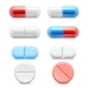Medicine Pills Collection - GraphicRiver Item for Sale