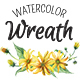 Watercolor wreathes and flowers. Full version - GraphicRiver Item for Sale