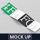 4-Fold Brochure Mockup - Square - GraphicRiver Item for Sale