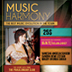 Music Event Flyer / Poster - GraphicRiver Item for Sale