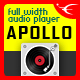 Apollo - Sticky Full Width HTML5 Audio Player - CodeCanyon Item for Sale