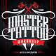 Tattoo Expo Workshop Flyer - GraphicRiver Item for Sale