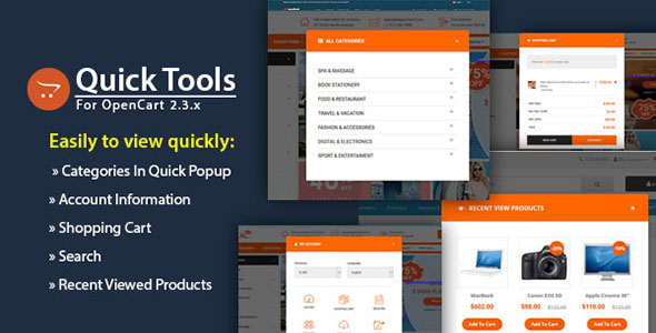 So Quick Tools - Responsive Quick View Tools Function for OpenCart 3 & 2.x Module