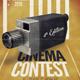 Cinema Contest A3 Template - GraphicRiver Item for Sale