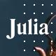 Julia – A Steady Food Blog WordPress Theme - ThemeForest Item for Sale