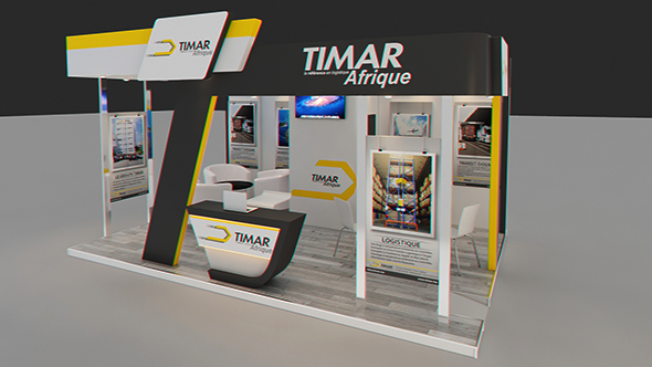 Exhibition Stand 3d Model Free Download : Trade show cg textures d models from docean