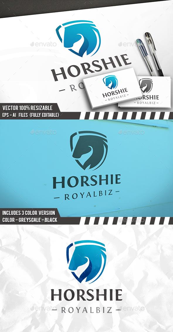 Horse Shield Logo