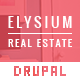 Elysium — Real Estate Drupal Theme - ThemeForest Item for Sale