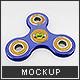 Fidget Spinner Mock-Up - GraphicRiver Item for Sale