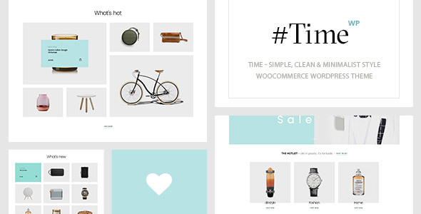 Time - Minimalist WooCommerce WordPress Theme