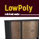 Lowpoly 3D cabinet model - 3DOcean Item for Sale