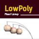 3D lowpoly asian floor lamp model - 3DOcean Item for Sale
