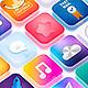 Icon App Maker - 20 PSD Mock-Ups (Part 2) - GraphicRiver Item for Sale