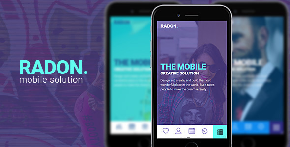 RADON HTML Mobile Template