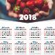 2018 Calendar Poster - GraphicRiver Item for Sale