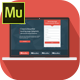 Flatvault - Muse Landing Page Template - ThemeForest Item for Sale