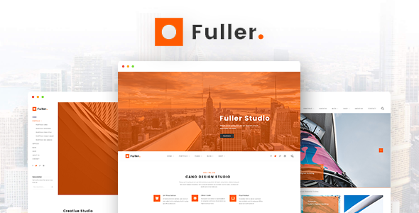 Fuller - Creative Portfolio, Resume & Agency WordPress Theme