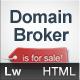 Domain Broker - HTML