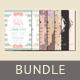 Bridal Shower Invitation Bundle - GraphicRiver Item for Sale