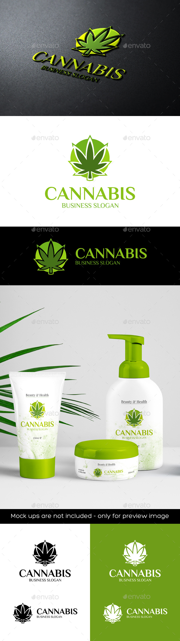 Cannabis Marijuana Logo