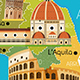 Italy Travel Set - GraphicRiver Item for Sale