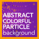 Abstract Colorful Particle Background - VideoHive Item for Sale