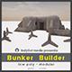 Bunker Builder Asset Pack - 3DOcean Item for Sale