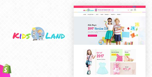 Kids Store   Kids Clothing, Fashion Shopify Theme