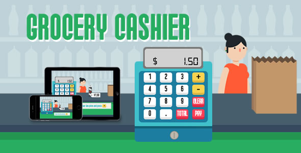 Grocery Cashier - HTML5 Game Download