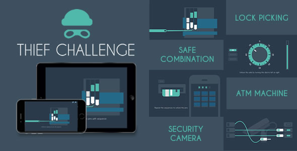 Thief Challenge - HTML5 Game