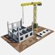 building krane - 3DOcean Item for Sale