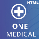 OneMedical - Responsive Bootstrap Template - ThemeForest Item for Sale