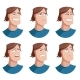 Set of Man Face Icons - GraphicRiver Item for Sale