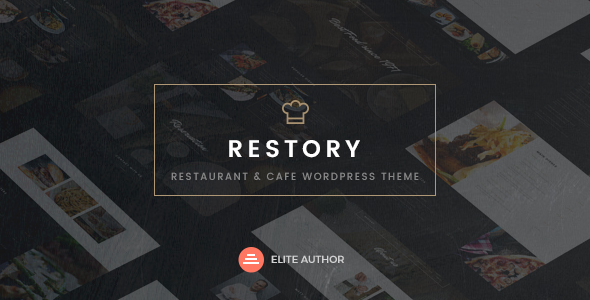 Restory - Restaurant & Cafe WordPress Theme