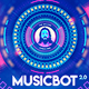 Musicbot 2.0 Visualisator and Audio React HUD Background Creator - VideoHive Item for Sale