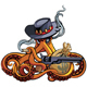 Octopus the Outlaw - GraphicRiver Item for Sale