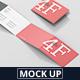 4-Fold Brochure Mockup - Din A4 A5 A6 Landscape - GraphicRiver Item for Sale