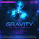 Gravity EDM Banner Template - GraphicRiver Item for Sale
