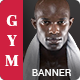 GYM | Fitness -HTML Animated Banner 02 - CodeCanyon Item for Sale