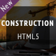 Construction - Industrial Responsive HTML5 Template - ThemeForest Item for Sale