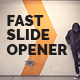 Fast Slide Opener - VideoHive Item for Sale
